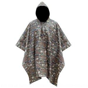 sqGSg Japon kare tarzı yetişkin açık kamp Cloak Vücut vücut giysileri giysi çok fonksiyonlu üç-bir-arada kamuflaj tulum yağmurluk