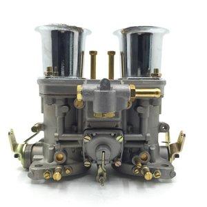 Bug için Hava Horn ile 2 ADET 40 IDF Karbüratör karbonhidrat motoru / Beetle / VW / Fiat / Porsche 40 idf weber otomobil accesorios Automovil