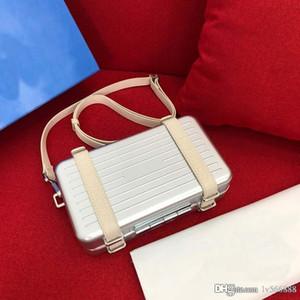 diseño de lujo bolsa de hombro de lujo bolso de cuero bolsa de diseñador móvil a través del cuerpo de la junta pequeña maleta global limitada 133-27