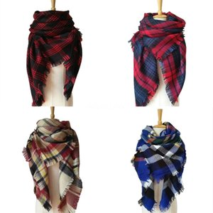 Winter Scarfs For Women Wave Chevron Infinity Teens Circle Loop Ring Scarf 2020 Fashion Cotton Infinity Wholesale#739