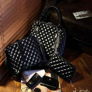 Pink sugao women shoulder handbag deisgner purses 5pcs set handbag lady tote bags pu leather 2020 new fashion bags BHP