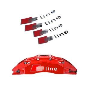 utomobiles Moto Car adapté pour udi modifié sline autocollants étrier de frein autocollants réfléchissants voiture 3A5A6A7A8SQ5 mots