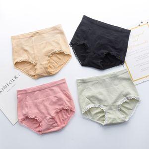 Seamless warm palace women's 3D honeycomb low waist Thermal and underwear lace hip anti-light cotton gear belly underwear women