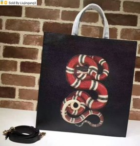 450950 New black snake Top Handles Boston Totes Shoulder Crossbody Belt Backpacks Mini Bag Luggage Lifestyle Bags