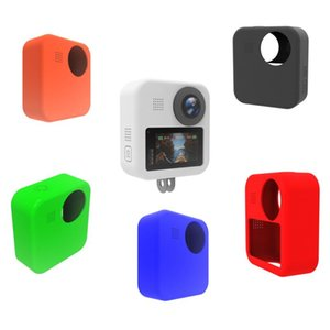 Silicone Armor Skin Case Body Cover Protector Video Bag Silicone Case For GoPro MAX Drop Protection Case