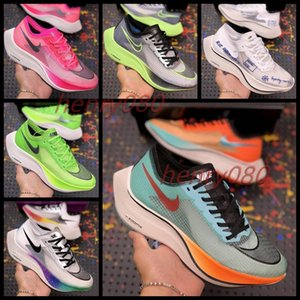 New Most Popular Zoomx Next 4% Street Mens Running Shoes For Women Trainers Be True Rainbow Transparent Sport Sneakers AO4568-300 AO4568-101