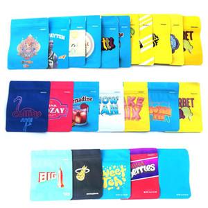 NERDS Seil 600MG Mylar Einzelhandel Ziper Tasche Kindergesicherte Smellproof Plastiktasche Seil Bites Süßigkeiten Verpackung Beutel für trockene Kräuter Tabak Blume Vape