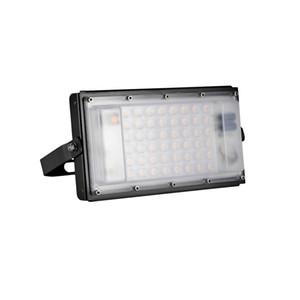 Cooler 50W Ultradünnes Modul-Licht 110V Weiß LED-Flutlicht-Lampen-Winkel einstellbar Stadium Autobahn Garage LED-Leuchten