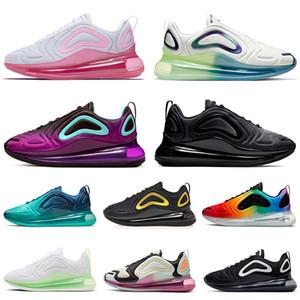 72C Блистерные Кроссовки теннис кроссовки для мужчин Женщин бегунки Неон Штрихи PINK SEA TOTAL ECLIPSE Гранд Фиолетовой Мода Спортивных кроссовок
