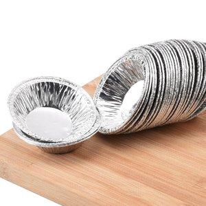 금형 도구 달걀 타트 팬 알루미늄 베이킹 컵 일회용 JK2007KD 컵케익 냄비 미니 파이 원형 패스트리 케이스 vgojh
