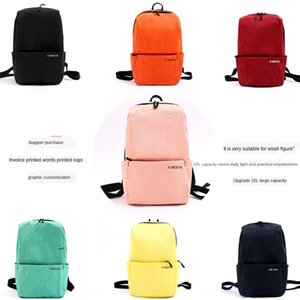 w8Drs Xiaomi same colorful new men's sports leisure children's student gift bag Xiaomi same colorful new men's sports backpack leisure child