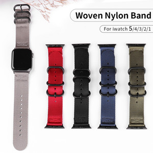 Nylon Strap for Apple watch 5 Band 44mm 40mm correa pulseira Bracelet 42mm 38mm for iwatch Watchband Accessories Series 4 3 2 1