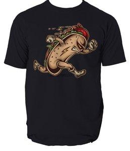 무료 배송 - 셔츠 HOT DOG HERO T 셔츠 코믹 만화 식품 망 t- 셔츠 티 S-3XL 만화 t 셔츠 남성 남여 새로운 패션