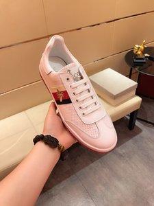 Luxury Designer Rockrunner sneakers leather Men Women casual shoes Sneakers Footwear Women Flats Dress Shoe Sports Tennis Printing H235