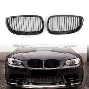 Areyourshop voiture pour BMW E93 328i 2007-2010 E92 335i 2DR Grille Rechercher Carbon Kidney Calandre Voiture Auto Accessoires Pièces