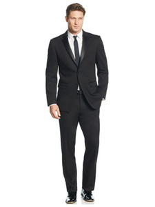 men suits for groom tuxedo black formal wear 2020 custom made suit high quality 3 piece suit