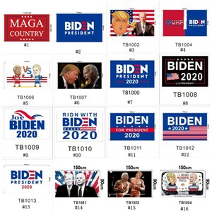 2020 Joe Biden seçim bayrağı 90x150cm Amerikan başkanlık seçimlerinde bayrağı renkli Biden bahçe seçim afiş