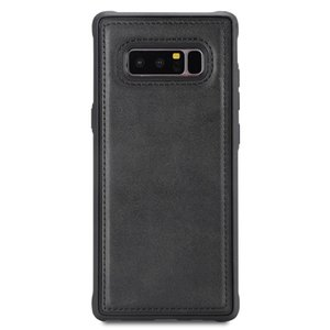 For Galaxy Note 8 Magnetic Shockproof PC + TPU + PU Leather Protective Case