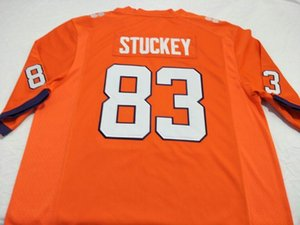 Youth Clemson Tigers Grady Jarrett Jim Stuckey Brentson Buckner embroidery College Jersey Size S-4XL or custom any name or number jersey