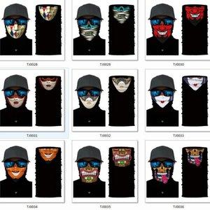 Sıcak Açık Maskeler Çok Fonksiyonlu Başkanı Eşarp Sorunsuz Kafa Fular bandanas Bisiklet Maskeler İskelet Magic Eşarp Parti Maskeler Sıcak Açık ra