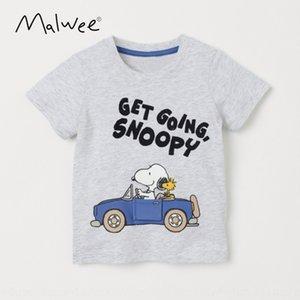 Malwee nuevo desgaste 2020 T-Shir de los niños del verano t Xu Chen Tong Shan Shantong camiseta de la camisa de manga corta Boysbase de Chen shanchildren