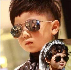 Korean sun Children's goggles Web celebrity boy's sun glasses children's comfortable UV-proof glasses baby girl's sunglasses