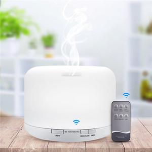 Portable Air umidificatore aromaterapia nebulizzatore purificatore nebbia fredda Diffusore con regolabile Mist Timer Modalità 7 luci LED di colore 500ml