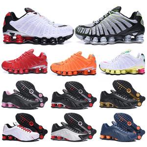 nike shox tl chaussures shox tl OG R4 üçlü siyah erkekler kadınlar koşu ayakkabıları platformu 301 Sunrise Lime Blast erkek eğitmen spor ayakkabı sneakers
