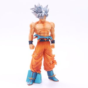3 Style Dragon Ball Z Goku Silver Hair Style Action Figure DBZ Goku Super Saiyan Commemorative Edition Collection Model Toys
