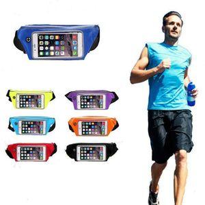 Талия сумка Спорт талии чехол Armband сумка Обложка для Iphone 5 6 7 для Samsung s6