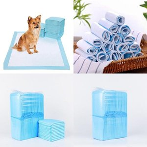 Dhl 20pcs Pet Dog Cat Diaper Super Absorbent House Training Pads For Puppies Polymer Quicker Dry Pet Pads Healthy Clean Wet Mat hotst VVlorj