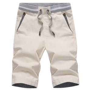 Casual Summer Shorts Elastic Fashion with Pockets Drawstring for Man Beach d88