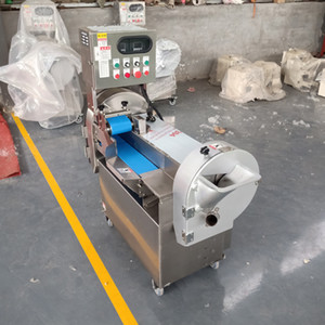 110V / 220V / 380V vegetable Kutter Maschine Multifunktions- Gemüseschneidemaschine shallot onion Zerteilmaschine zum Verkaufen