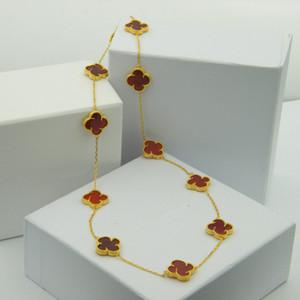 Fine fleur dix longue chaîne autour de deux cercles grand long collier agate naturelle moulin à vent