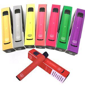 İndirimde Sıcak Prefilled Puff Bar ek tek Vape Kalem Cihaz Bakla E-sigaralar Başlangıç Setleri 550mAh Vaporizer Kalem Puffbar Taşınabilir Starter