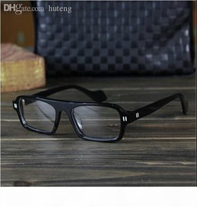 Wholesale-free shipping Theo acetate frame high quality Limited edition thickening handmadeglasses frame plain eyeglasses myopia frames