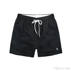 LACOSTE Sommer-Männer kurze Hosen-Marken-Kleidung Bademode Nylon Männer Marke Strand Shorts Kleine Pferde Swim Wear Board Shorts