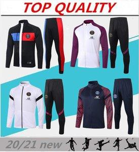 2020 2021 París chaqueta de fútbol chándal MBAPPE traje de entrenamiento de fútbol 20-21 PSG camiseta de fútbol ICARDI jogging survey