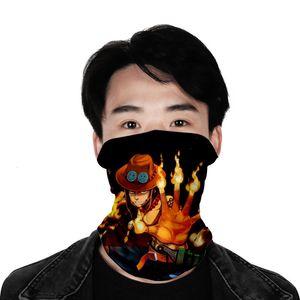 Riding sunscreen dustproof scarf one piece multifunctional dustproof sports scarf Ice Silk Mask