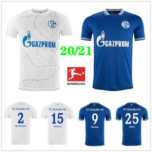 2020 2021 FC شالكه 04 لكرة القدم الفانيلة 7 UTH 10 Bentaled 18 Caligiuri 25 حريث SERDAR BURGSTALLER مخصص الإياب في 20 21 لكرة القدم قميص