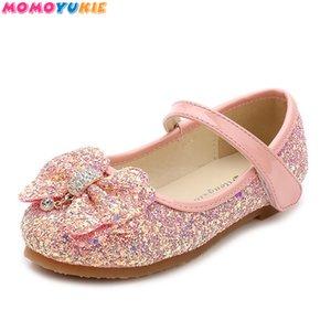 Çocuklar Prenses Kız Pembe Altın Okulu Dans CX200724 Yeni Kız Sequins Düğün Çocuk Bebek Enfants Sıcak Shoes