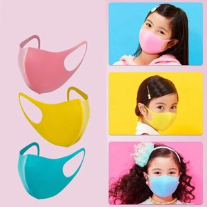 In Stock !! 3Pcs Set Child Face Mask For Men Women Kids Anti PM2.5 Dustproof Smoke Pollution Mask With Earloop Washable Respirator EEA1547