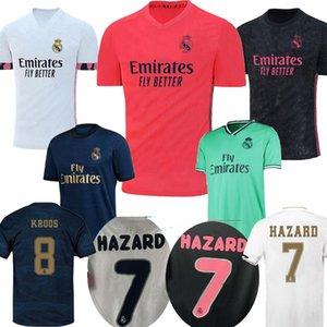 2020 Aplicables a los aficionados del Real Madrid PELIGRO Modric EA Sports camisetas de fútbol Player versión para hombre Ramos camiseta de fútbol camiseta de fútbol 20 21