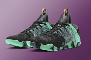 Black Mamba 11 Elite Low All Star Schuhe zum Verkauf mit Box mit den 11 Green Glow Red Männer Basketballschuhe speichern Größe US7-US12