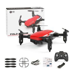 LF606 Wifi FPV Складная RC Drone с 0.3MP 2MP 5MP HD Высота камеры Удерживать 3D Flips Headless Mode RC Вертолет Самолет