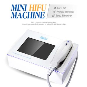 New Technology Pulsed Rf Heat Therapy Mini Hifu Face Lifting Rf Skin Rejuvenation Household Mini Digital Hifu Device For Home Use