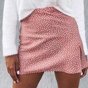 Woman Skirts Print High Waist Mini Skirt Summer Skirt Women Skirts Jupe Faldas Apparel Dance Women Cute