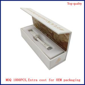 Vape Vuoto Whole-ceramica vaporizzatore Nessun cavo testina a bobina ceramica OEM logo del marchio di spessore Vape serbatoio olio 100% metallo non pesante atomizzatore