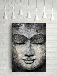 IMPRESSIONANTE RESUMO BUDDHA Home Decor pintado à mão HD Pinturas Imprimir óleo sobre tela Wall Art Pictures 200727