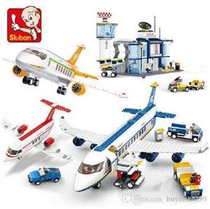 İl Avion Technic Kargo Uçağı Havaalanı Airbus Uçak Yapı Taşları Legoingls Bricks Eğitici Oyuncaklar İçin Çocuk Figures